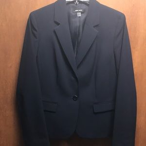 Nine West navy blazer